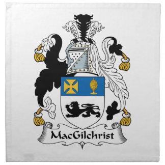 Escudo de la familia de MacGilchrist Servilletas Imprimidas