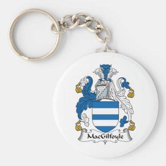 Escudo de la familia de MacGilfoyle Llavero Redondo Tipo Pin