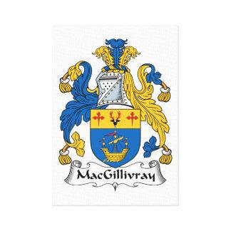 Escudo de la familia de MacGillivray Impresiones En Lona Estiradas