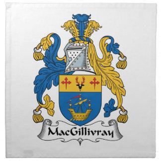 Escudo de la familia de MacGillivray Servilletas