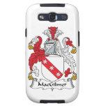 Escudo de la familia de MacGilmer Galaxy S3 Protector