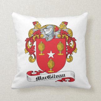 Escudo de la familia de MacGilvan Almohadas