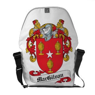 Escudo de la familia de MacGilvan Bolsa Messenger