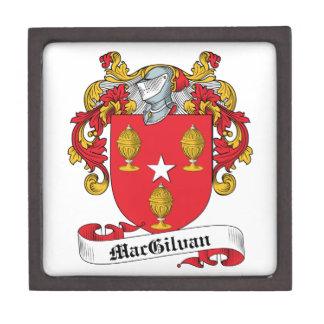 Escudo de la familia de MacGilvan Caja De Recuerdo De Calidad