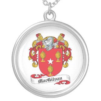 Escudo de la familia de MacGilvan Colgante Redondo