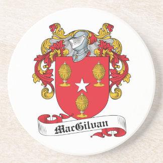 Escudo de la familia de MacGilvan Posavasos De Arenisca
