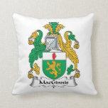 Escudo de la familia de MacGinnis Almohadas