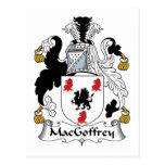 Escudo de la familia de MacGoffrey Postal