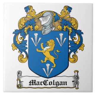 Escudo de la familia de MacGolgan Azulejo Cuadrado Grande