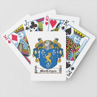 Escudo de la familia de MacGolgan Baraja Cartas De Poker