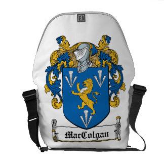 Escudo de la familia de MacGolgan Bolsa De Mensajería