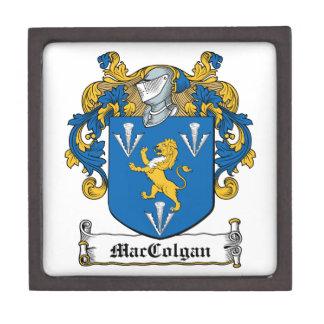 Escudo de la familia de MacGolgan Cajas De Joyas De Calidad