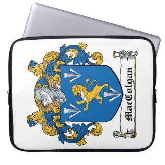 Escudo de la familia de MacGolgan Funda Portátil