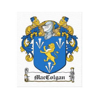 Escudo de la familia de MacGolgan Impresiones En Lona