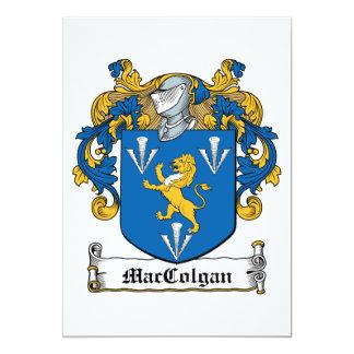 """Escudo de la familia de MacGolgan Invitación 5"""" X 7"""""""