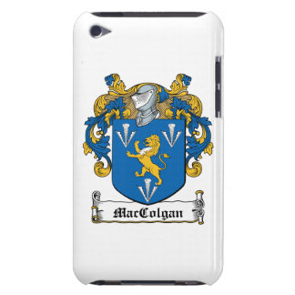 Escudo de la familia de MacGolgan iPod Case-Mate Cárcasas