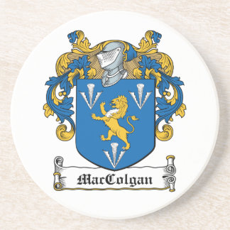 Escudo de la familia de MacGolgan Posavasos Cerveza