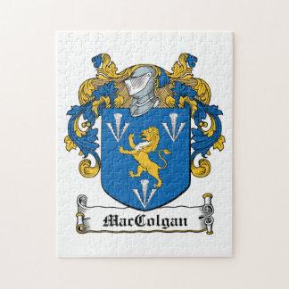 Escudo de la familia de MacGolgan Rompecabezas