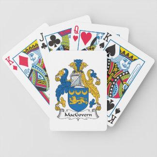 Escudo de la familia de MacGovern Baraja De Cartas