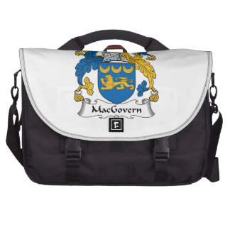 Escudo de la familia de MacGovern Bolsas De Portatil