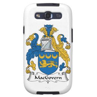 Escudo de la familia de MacGovern Samsung Galaxy S3 Cárcasas