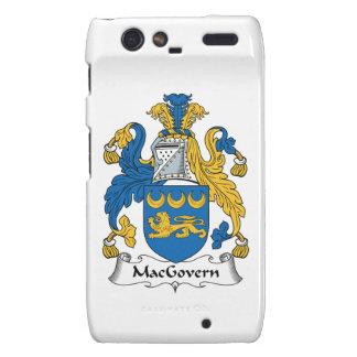 Escudo de la familia de MacGovern Droid RAZR Carcasa