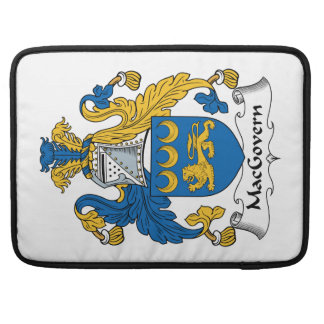 Escudo de la familia de MacGovern Funda Macbook Pro