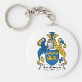 Escudo de la familia de MacGovern Llaveros