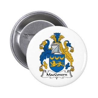 Escudo de la familia de MacGovern Pin