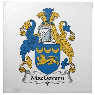 Escudo de la familia de MacGovern Servilleta De Papel