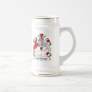 Escudo de la familia de MacGowan Tazas De Café