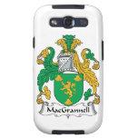 Escudo de la familia de MacGrannell Galaxy S3 Protector
