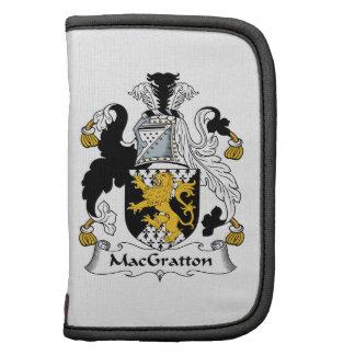 Escudo de la familia de MacGratton Planificador
