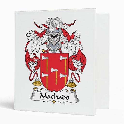 Escudo de la familia de Machado