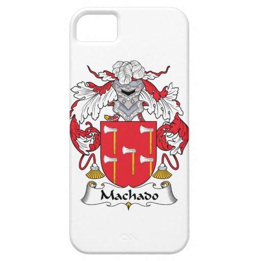 Escudo de la familia de Machado iPhone 5 Funda