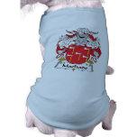 Escudo de la familia de Machado Camiseta De Perrito