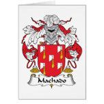 Escudo de la familia de Machado Tarjetas