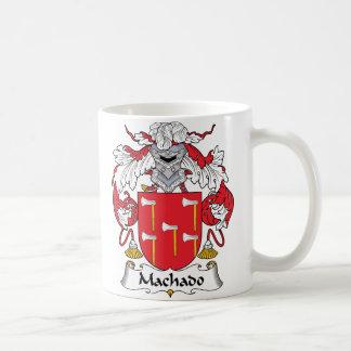 Escudo de la familia de Machado Taza De Café