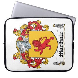 Escudo de la familia de MacHale Fundas Ordendadores