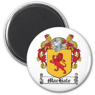 Escudo de la familia de MacHale Imán Para Frigorifico