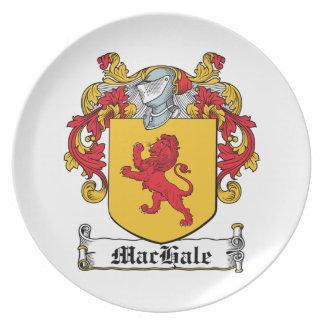 Escudo de la familia de MacHale Plato