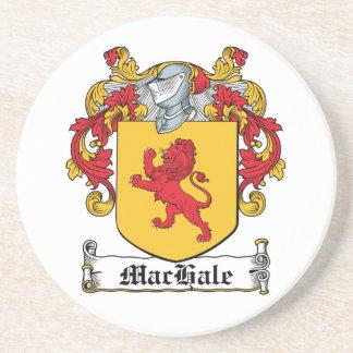 Escudo de la familia de MacHale Posavasos Cerveza