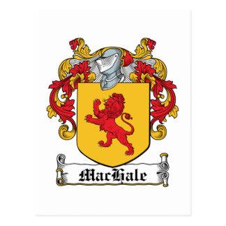 Escudo de la familia de MacHale Postal