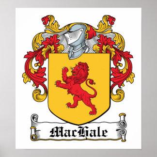 Escudo de la familia de MacHale Poster