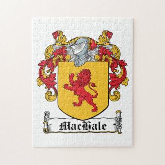 Escudo de la familia de MacHale Puzzle