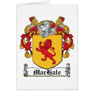 Escudo de la familia de MacHale Tarjetas