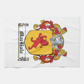 Escudo de la familia de MacHale Toalla De Cocina