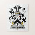 Escudo de la familia de MacHall Rompecabezas