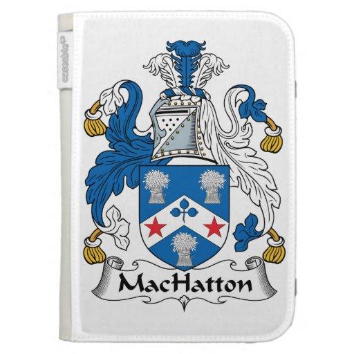 Escudo de la familia de MacHatton