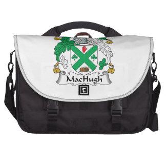 Escudo de la familia de MacHugh Bolsas De Ordenador